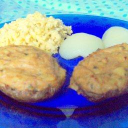 Baked Tuna Stuffed Potatoes