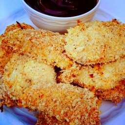 Baked Chicken Fingers with Panko and Dijon