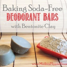 Baking-Soda Free Deodorant Bars