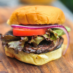 Balsamic Marinated Portobello Burgers