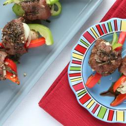 Balsamic Steak Roll-Ups