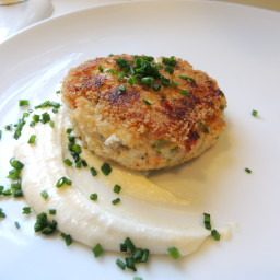 Baltimore Crab Cakes with Red Chili Mayonnaise