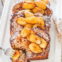 Banana Bread French Toast with Caramelized Bananas