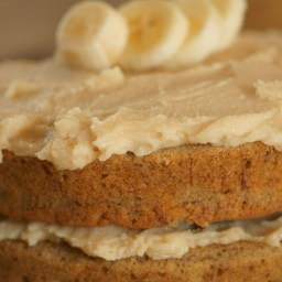 Banana Coconut Cake