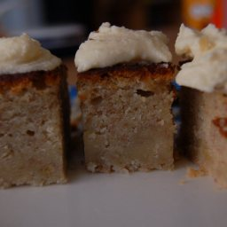 Banana Layer Cake with Cream Cheese Frosting