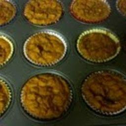 Banana Pumpkin Bread or Muffins