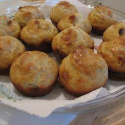Banana-White Chocolate Muffins