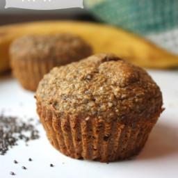 Banana Chia Seed Muffins