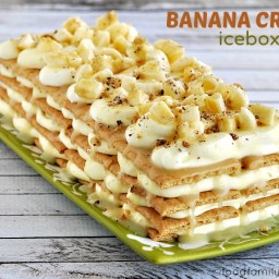 Banana Cream Pie Ice Box Cake Recipe