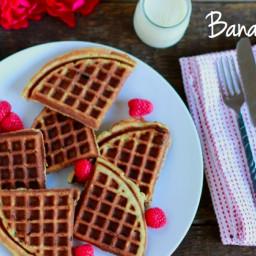 Banana Waffles (gluten and grain free)
