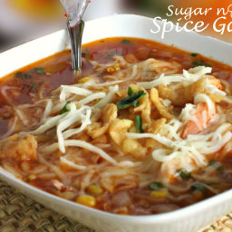 Barbecue Chicken Soup