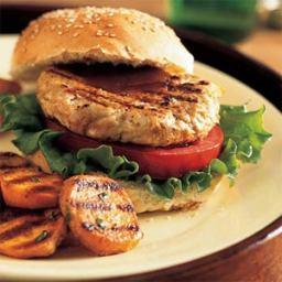 Barbecue Turkey Burgers