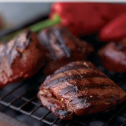 Barbecue Venison Steaks