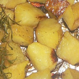 Barbequed Country Potatoes