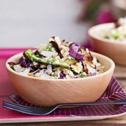 Barley and Grilled-Vegetable Salad