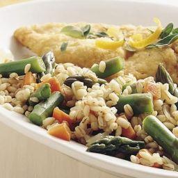 Barley and Asparagus