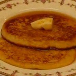Basic Pancakes & Banana, Chocolate Chip Or Pecan