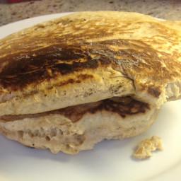 Basic Whole Wheat Oatmeal Pancakes