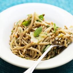 Basil-Cilantro Noodles