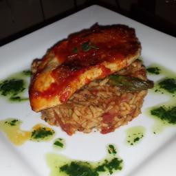 Basmati Spanish Style Rice & Spiced Chicken Breast