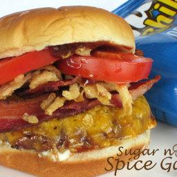 BBQ Bacon Ranch Burgers
