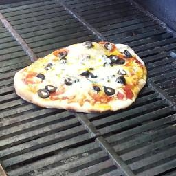 BBQ Pepperoni Pizza