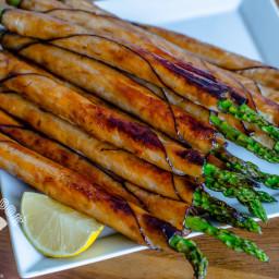 BBQ Turkey Asparagus Spears