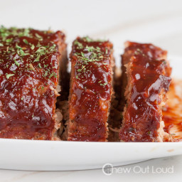 BBQ Turkey Meatloaf