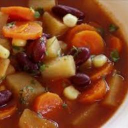 Bean & Vegetable Soup (1+)