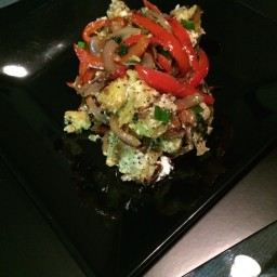 Bear Cave Roasted Sweet Potato Salad
