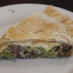 Beef and Broccoli Pie