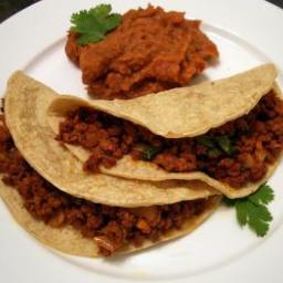 Beef & Chorizo Tacos