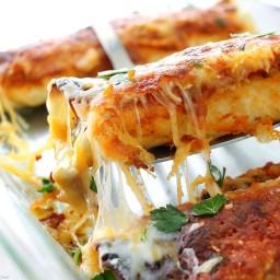 Beef Enchiladas with Homemade Enchilada Sauce