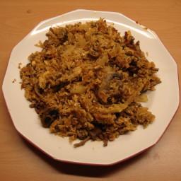 Beef Kimchi Rice