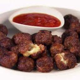 Beef & Pork - Meatballs a la Pizzaiola