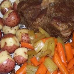 Beef Pot Roast (Pot, Oven or Slow Cooker)