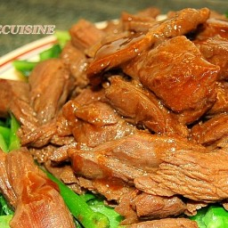 Beef and Chinese Broccoli in Oyster Sauce