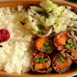 Beef Vegetable Rolls