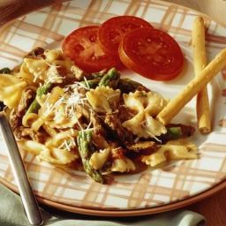 Beef with Bow-Tie Pasta