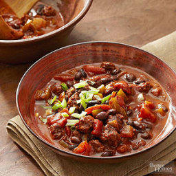 Recipes Course Beef and Black Bean Chili
