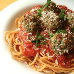 Beef and Ricotta Meatballs