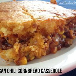 Beefy Cornbread Casserole