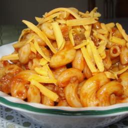 Beefy Macaroni Supper