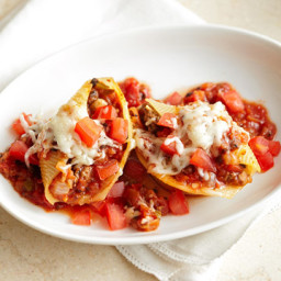 Beefy Stuffed Shells