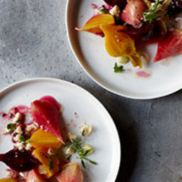 Beet & Blue Cheese Salad