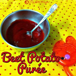 Beetroot and Potato Puree Recipe