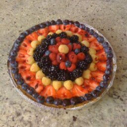 Berry Easy Cheesecake Pie