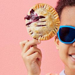 Berry Pie Pops