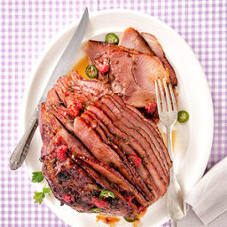 Berry Crisp Spiral Ham
