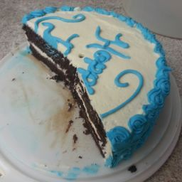 Best Chocolate Cake with Vanilla Buttercream Frosting